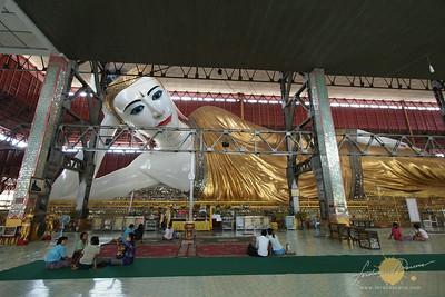 Chauktatgyi Paya Reclining Buddha