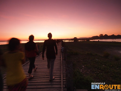 OLYMPUS DIGITAL CAMERA U-Bein's Bridge, Longest Teak Footbridge in the world
