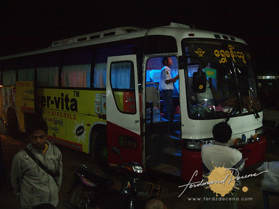 Bus to Mandalay