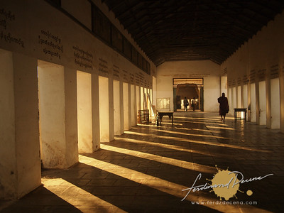 Shwezigon Paya Hallway
