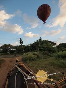 Chuni Chasing a ballon