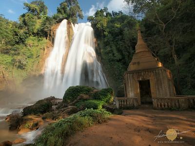Anisakan Falls or Dat Taw Gyaik Falls