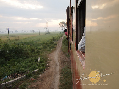 Train view from Mandalay to Pwin U Lwin