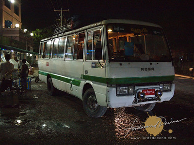Mini-Bus to Taunggyi