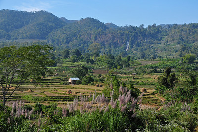 Hiking in the mountains around Hsipaw in northern Myanmar