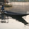 Rowing begins at a very early age on Inle Lake!