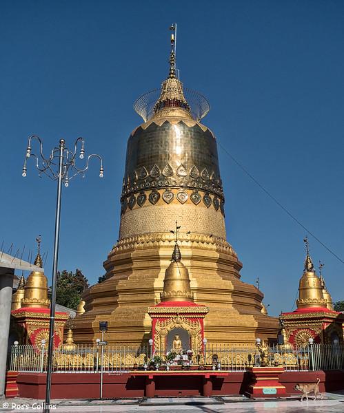 Theindawgyi Pagoda and Monastery, Banmaw, Kachin State, Myanmar, 20 October 2015