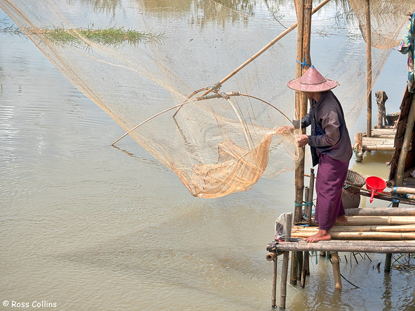 Fishing Around Hpa-An, Kayin State, 30 September 2015