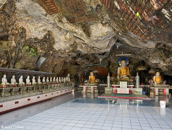 Kaw Ka Thawng Cave, Hpa-an, Kayin State, Myanmar, 30 September 2015