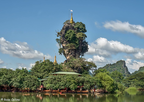 Kyauk Kalap Lake Monastery