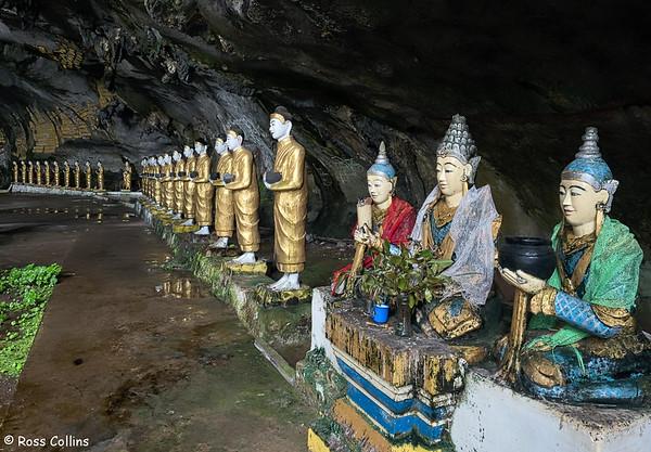 Saddar Cave, Hpa-an, Kayin State, Myanmar, 30 September 2015