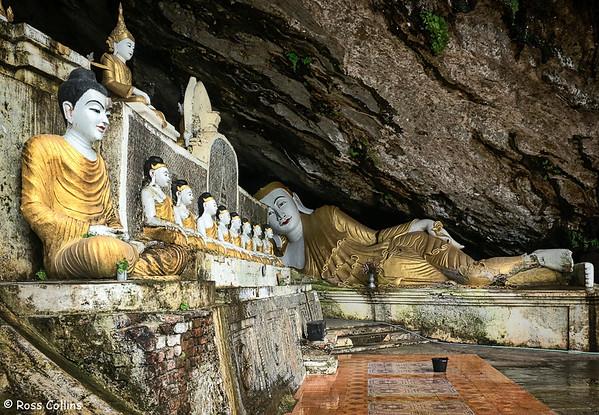Ya Thay Pyan Cave, Hpa-an, Kayin State, Myanmar, 1 October 2015