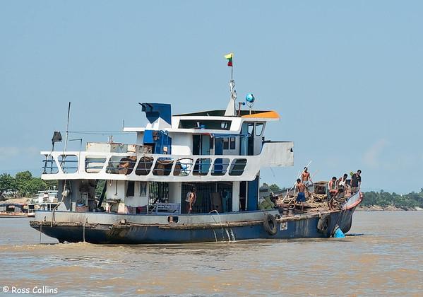 Boat capsize near Htonbo Village, Bago Region, Myanmar, 28 October 2015