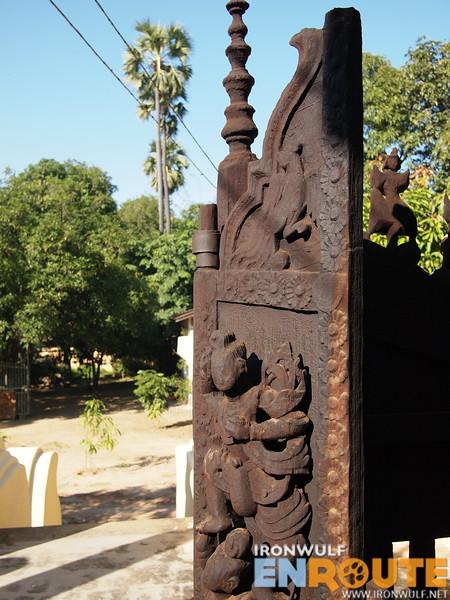 Nice looking monastery gates