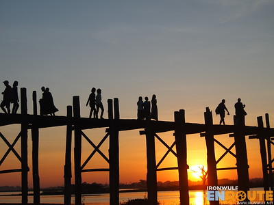 U-Bein's Bridge, Longest Teak Footbridge in the world