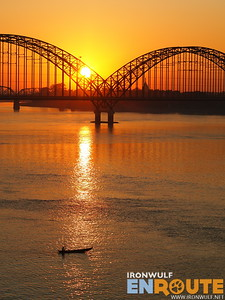 Sagaing Bridge over Ayeyarwady River