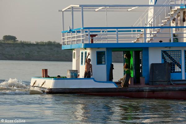 Along the Ayeyarwady, Mandalay to Nyaung U, Myanmar, 31 January 2013
