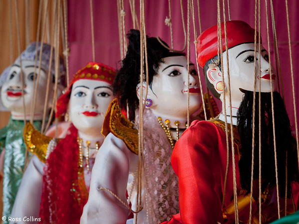 Hotel Yadanarbon Puppets, Mandalay, Myanmar, 23 January 2014