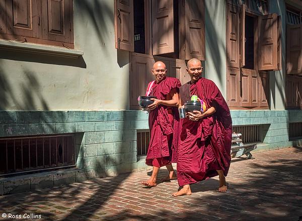 Maha Gandayone Monastery, Mandalay, Myanmar, 23 October 2015