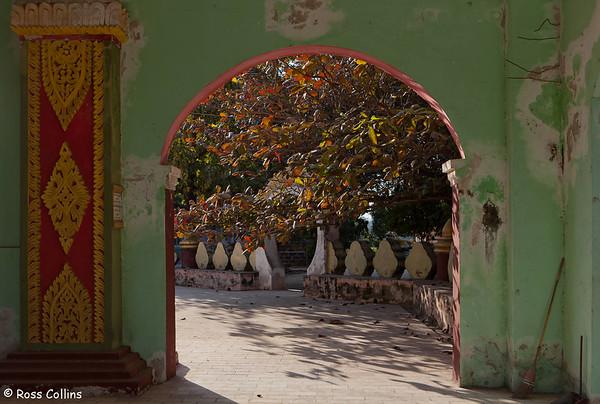 Mya Kyauk Kyaung Monastery, Mandalay, Myanmar, 26 January 2014