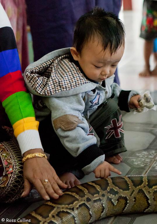 Paleik Snake Monastery Mandalay, Myanmar, 26 January 2014