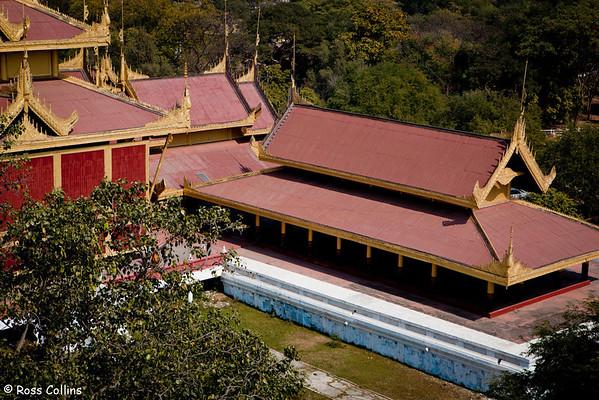 Royal Palace and Fort, Mandalay, Myanmar, 29 January 2013
