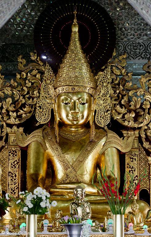 Sandamuni Pagoda and 1774 Stupas, Mandalay, Myanmar
