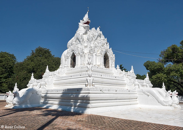 Shwegugyi Pagoda, Amarapura, Mandalay Region, Myanmar, 23 October 2015