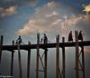 Taungthaman Lake, Amarapura, Mandalay Region, Myanmar, 29 January 2013