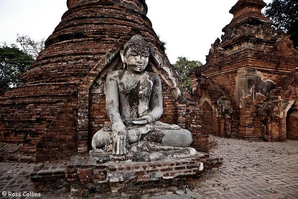 Yadana Hsimi Pagodas, Inwa, Myanmar, 28 January 2013