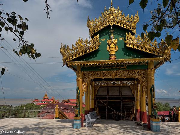 Kyaik-Ka-Mi-Ye-Le Pagoda near Thanbyuzayat, Mon State, Myanmar, 3 October 2015