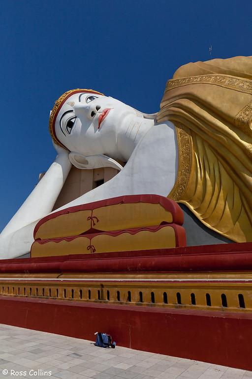 Giant Buddhas at Bodhi Tataung near Monywa, Myanmar, 25 January 2014