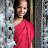 Young monk at the Shwe Kyaung monastry in Mandalay