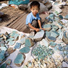 A young jade prospector in Mandalay