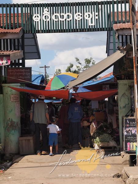 Entrance at Mingala Market