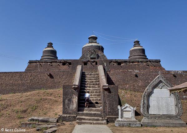 Dukkanthein Pagoda, Mrauk U, Myanmar, 5 February 2014