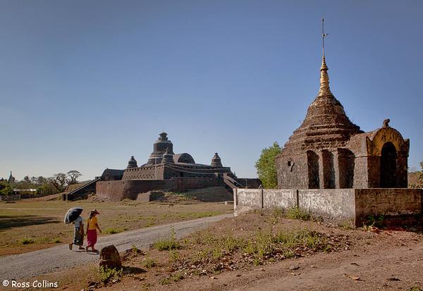 Dukkanthein Pagoda, Mrauk U, Myanmar, 4 February 2014