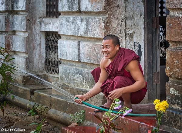 Shwezedi Kyaung Monastery, Sittwe