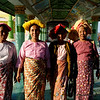 I asked these women to poss for a photo as they left the temple. The stood solemnly for one picture. I had to make faces to get them to smile for me.