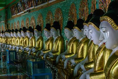 Buddha Line Up