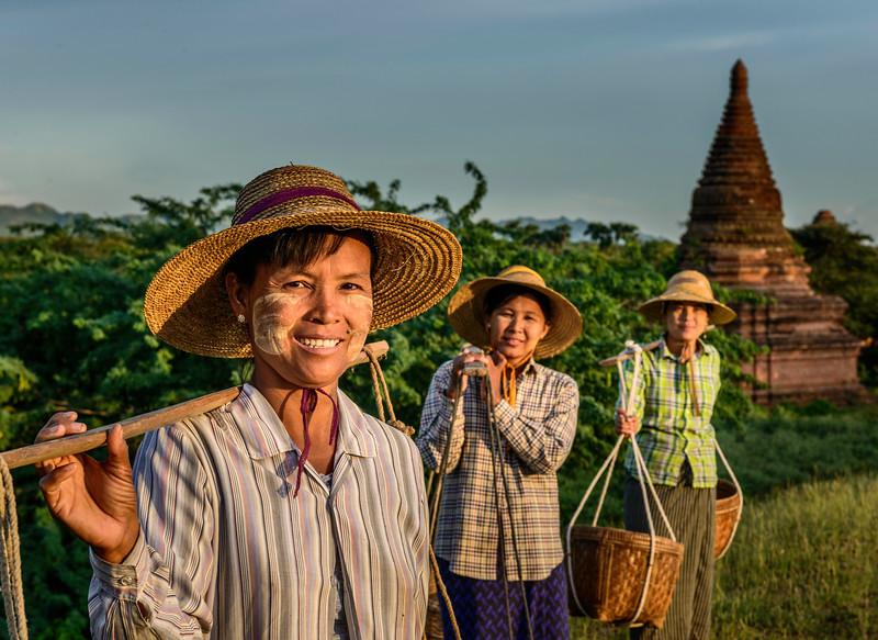 Bagan Basket Carriers