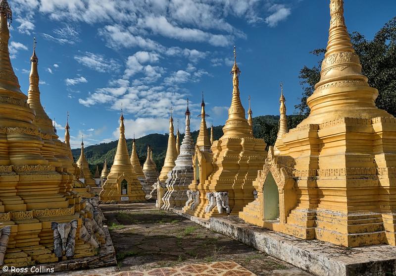 Banana Village, Pindaya, Shan State, Myanmar, 16 October 2015