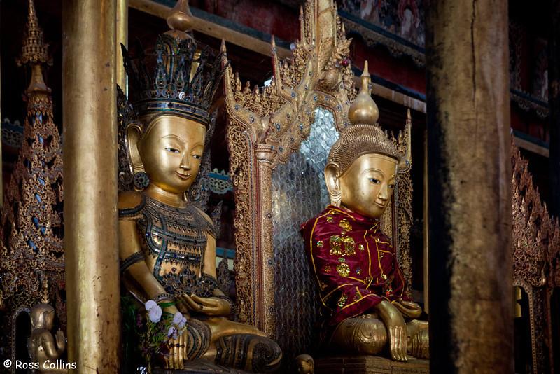 Nga Hpe Kyaung Monastery, Inle Lake, Myanmar, 21 January 2014