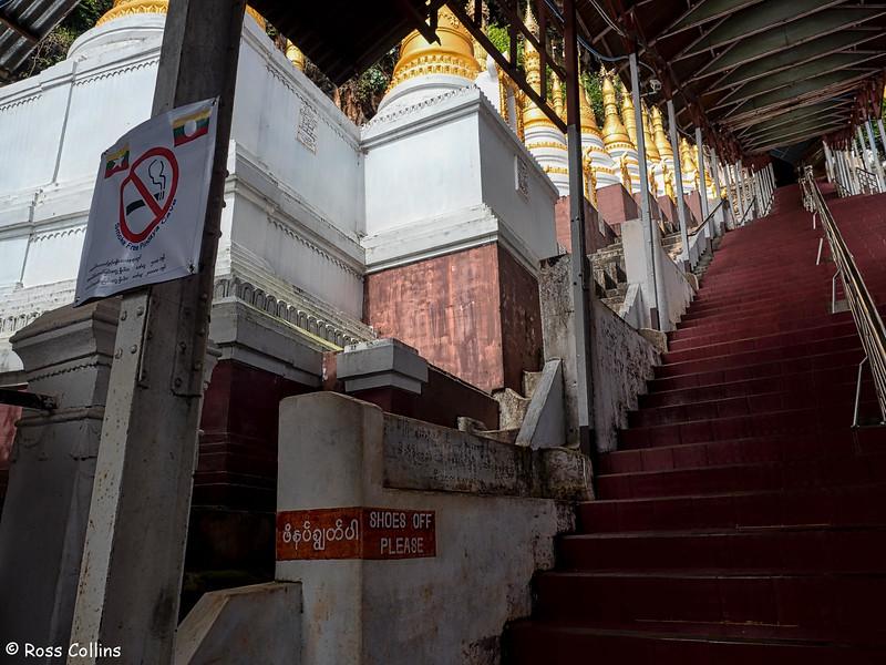 Shwe Oo Min Pagoda, Pindaya, Shan State, Myanmar, 15/16 October 2015