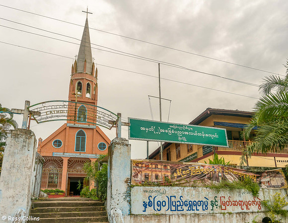 Church of the Assumption, Myeik, Myanmar, 12 October 2015
