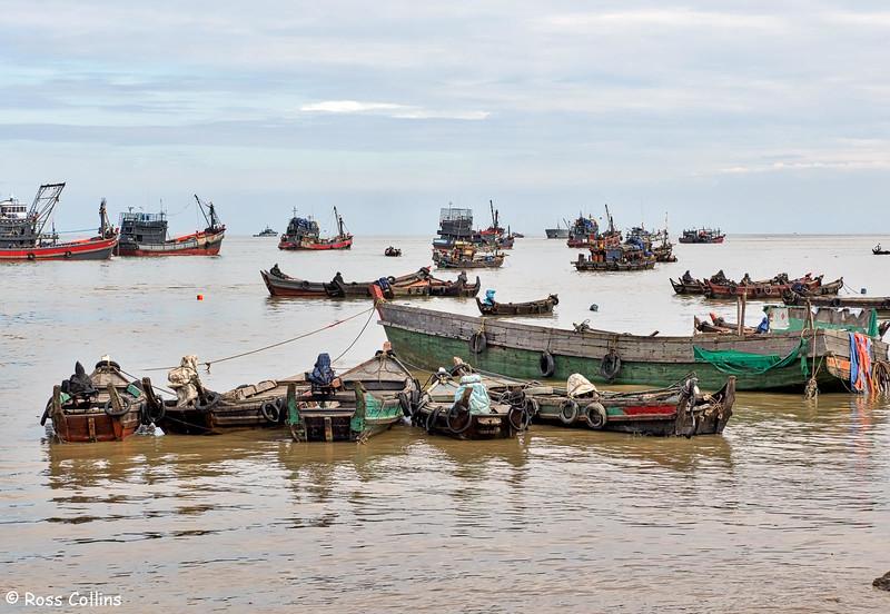 Myeik Waterfront, Tanintharyi Region, Myanmar, 13 October 2015