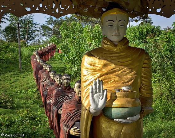 Zalone Pagoda, Dawei, Tanintharyi Region, Myanmar, 9 October 2015