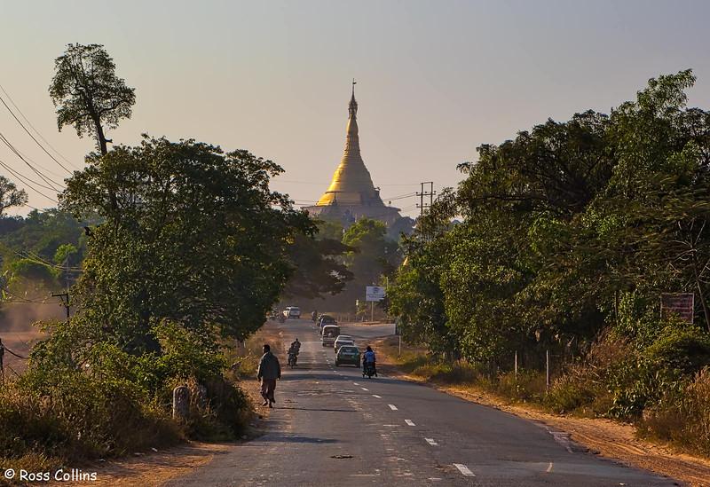 Kyaik Khauk Pagoda, Thanlyin, Myanmar, 19 January 2014