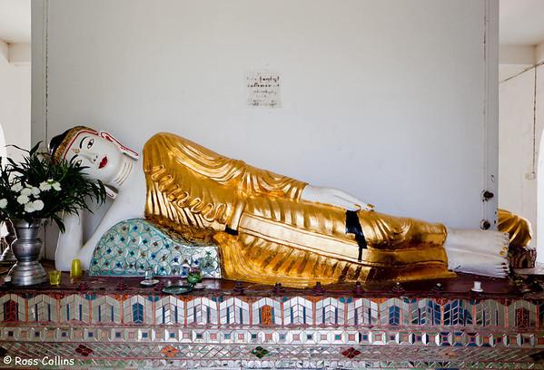 Kyaik Pyat That Tanon Pagoda, Thanlyin, Myanmar, 19 January 2014