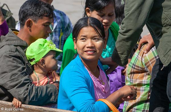 Kyaik Hmaw Won Yele Pagoda, Kyauktan, Myanmar, 19 January 2014